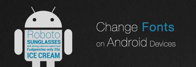 change-fonts-android