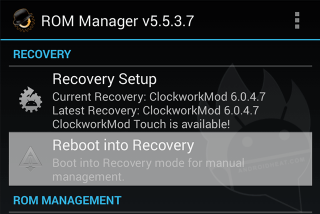 install cwm recovery 8